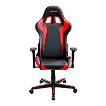 DXRacer Formula Series DOH/FH00/NR Newedge Edition Racing Bucket Seat Office Chair Gaming Chair Ergonomic Computer Chair eSports Desk Chair Executive Chair Furniture With Pillows (Black/Red)