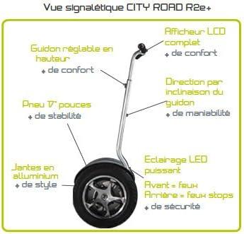 Gyropode électrique (Batterie Plomb-Acide) R2e Beeper Road