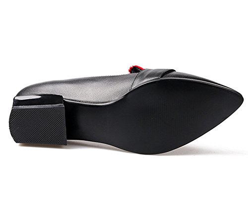 Nine SevenLoafer Flats - Sandalias con cuña mujer Red