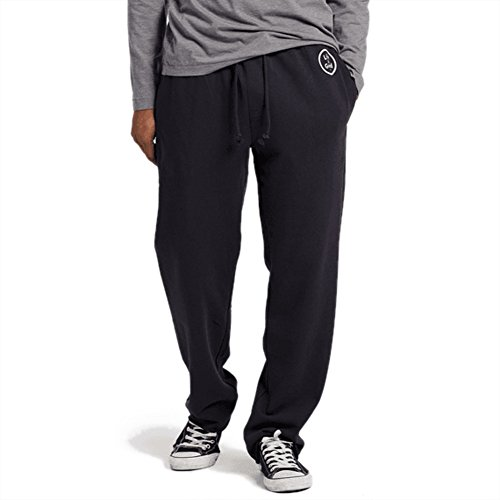 Life is Good Men's Simply True Lounge Pant lig Coin, Night Black, Large (Lounge Pants Life Is Good)