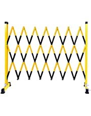 Mobile Barricade System Portable, Retractable Queue Fence, Heavy Duty Crowd Control Barriers Easy to Transport with Pulley for Highway, Mall, Construction Lsxiao
