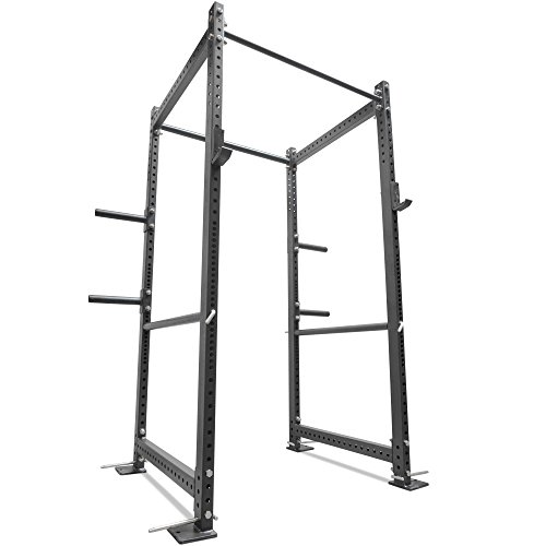 Titan 36'' Deep T-3 Series HD Power Rack Squat Deadlift Barbell Cage Bench Stand by Titan Fitness