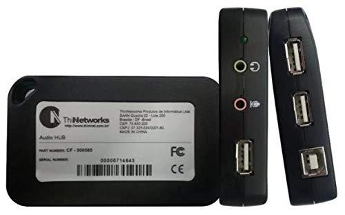 SeCro USB HUB Audio Sound Card