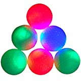 15-piece Night Golf LED Balls Glow in the Dark Night Flyer (White)