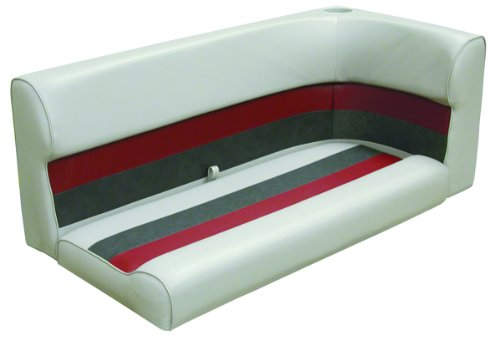Wise 8WD131-1012 Left Corner Lounge Seat Cushion, 46-Inch, - Lounge Pontoon