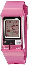 Casio Kids' LDF-52-4ADR Poptone Digital Display Quartz Pink Watch