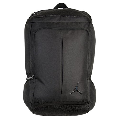 Price comparison product image Nike Jumpman Classic Black Laptop Backpack 9A1687-023 with Graphic Black Border