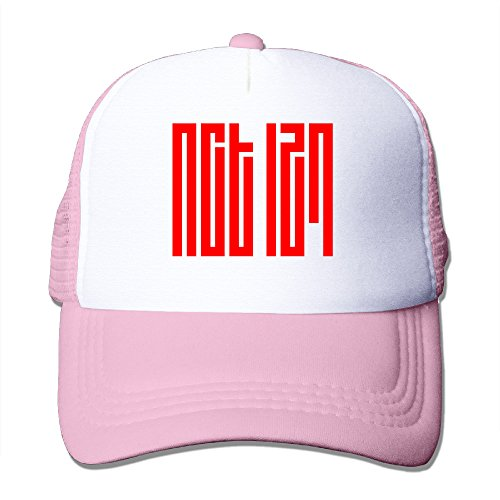 Vcan Cap NCT 127 Kpop Hat Trucker Adjustable Pink One Size for Adult