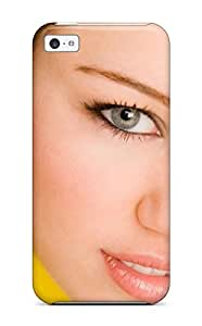Hot XYWOcua1077JSyOS Case Cover Protector For Iphone 5c- American Actress Miley Cyrus S
