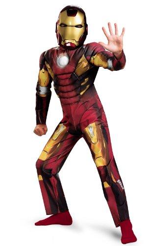 Iron Man Mark Vii Halloween Costume (Iron Man Mark VII Movie Classic Muscle Costume -)
