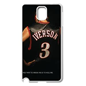 NBA Great Player Allen Iverson nicknamed A.I. The Answer Cool Design #1 Matt Feel Hard Plastic for Samsung Galaxy Note 3 Best TR038217