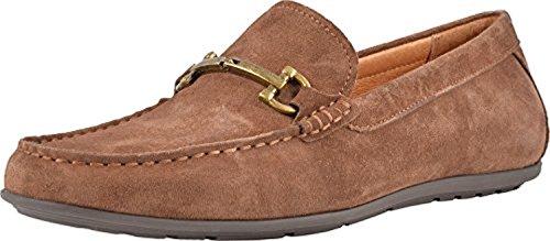 Vionic Mens 556 Mason Mercer Suede Shoes Braun