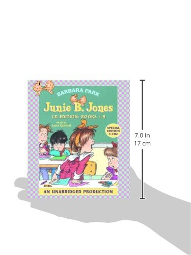 Junie B. Jones Audio Collection, Books 1-8 by Imagination Studio (Image #3)