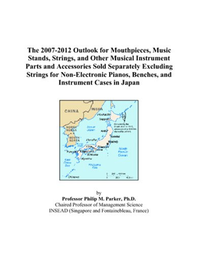 Bench Separately Sold (The 2007-2012 Outlook for Mouthpieces, Music Stands, Strings, and Other Musical Instrument Parts and Accessories Sold Separately Excluding Strings for ... Benches, and Instrument Cases in Japan)