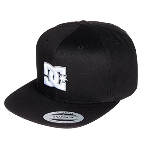 DC Men's Snappy Trucker Hat, Black 2016, One Size by DC (Image #1)