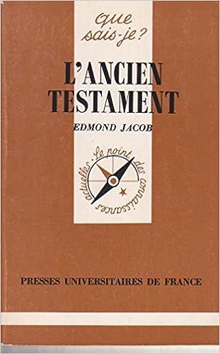 Lire L'Ancien Testament pdf ebook