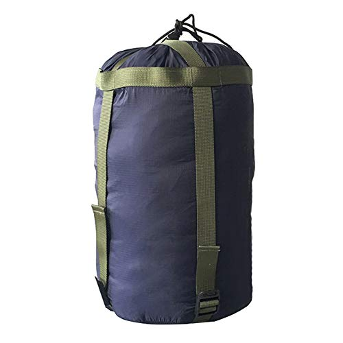Kathleen0 Sleeping Bag Pack Bedding amping Portable ompression King Nylon Travel Sports Tent arry Outdoor Stuff Sack(Dark Blue)