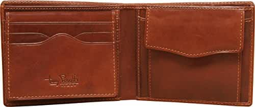 Tony Perotti Italian Leather Ultimo Wallet Credit Card Case, Coin Pocket, ID
