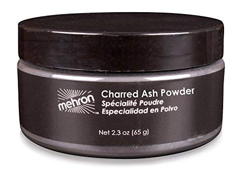 Mehron Makeup Charred Ash Powder (2.8 ounce) by Mehron