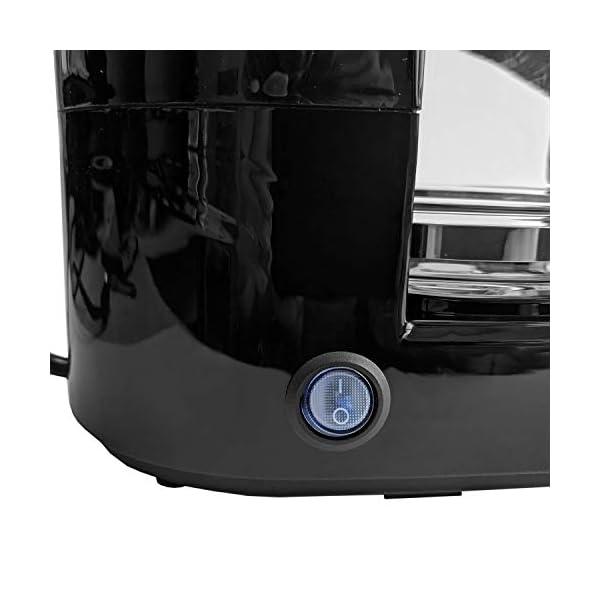 41JWHu2oVYL Kaffeemaschine 24V, 300W, 0.65L, Glaskanne, 6 Tassen, Anschluss Zigarettenanzünder - Reisekaffeemaschine für Lkw, Boot…