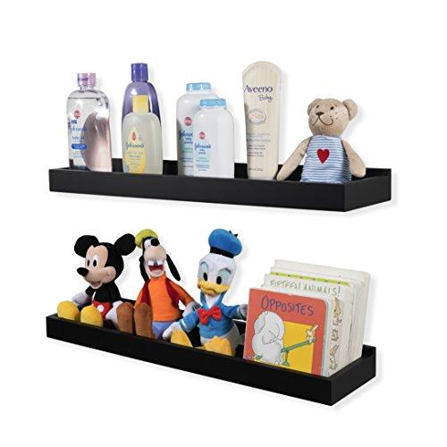 Wallniture Nursery Room Decor - Floating Book Shelves for Ki