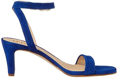Unisa Mandi_KS, Sandales Bride Cheville Femme Bleu (Sapphire)