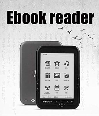 ZY Bk-6006 Lector de Libros electrónicos Libro electrónico de 6 ...