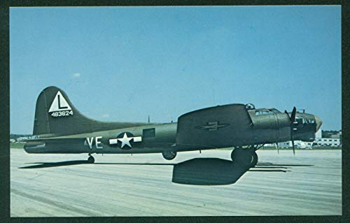 Boeing B-17G Flying Fortress Propeller Airplane WWII Bomber 8th Air Force Markings USAF Postcard