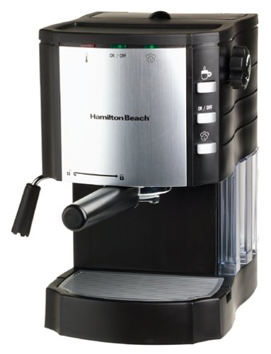 Amazon.com: Hamilton Beach 40714 Espresso/Cappuccino Maker ...