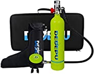 Diving Tank Equipment, S500 Mini Scuba Tank Scuba Cylinder with 15-25 Minutes Capability Diving Oxygen Tank Br