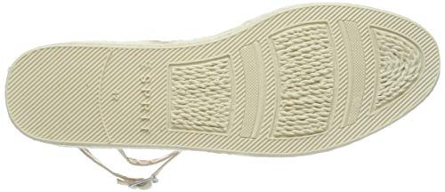 Femme Taupe Beige Stripe Espadrilles Ines light 260 San Esprit wxIU0pqp