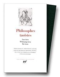Philosophes taoïstes, tome 1 : Lao-Tseu, Tchouang-Tseu, Lie-Tseu par Lie Yukou