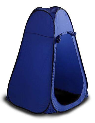 天輸送口SEIKOH ワンタッチテント 着替えテント プライベートテント 110×110cm 高さ193cm ブルー ODST4BL