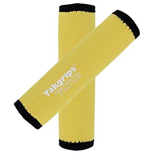 Yakgrips® Yellow Non-Slip Soft Kayak Canoe Paddle Grips