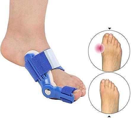 Amazon.com: Orthotics Big Toe Corrector Hallux Valgus Foot Pain Relief Feet Guard Care Bone Corrective Bunion Night Day Splint Straightener: Health ...