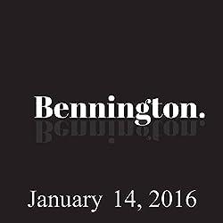Bennington, January 14, 2016