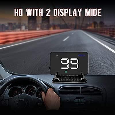 Hud Display Coche, Proyector De Datos De Parabrisas De Autos Con ...