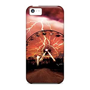 AmyJoHalum Premium Protective Hard Case For Iphone 5c- Nice Design - Something Wicked This Way Comes