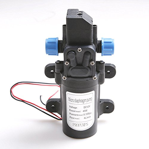 Buy cslu micro diaphragm pump solid high pressure 100psi 12v dc 4l cslu micro diaphragm pump solid high pressure 100psi 12v dc 4lmin diaphragm water self priming pump boat ccuart