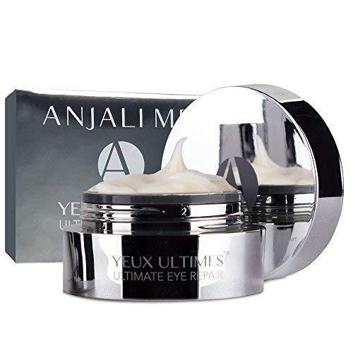 Anjali MD Ultimate Eye Repair - Yeux Ultimes - Reduces Eye Wrinkles & Crows Feet (Best Treatment For Crow's Feet Wrinkles)