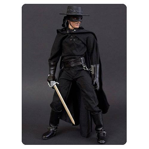 Adult Zorro Bandana With Mask (Zorro Deluxe 1:6 Scale Action Figure)