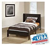 Product review for Sauder Parklane Twin Platform Bed with Headboard, Cinnamon Cherry - Guestroom Children's Bedroom Bed Set for Relaxed Sleeping - Engineered Wood Construction