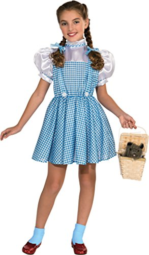 [Wizard Of Oz Dorothy Girls Kids Youth Costume (M)] (Dorothy Kid Costumes)