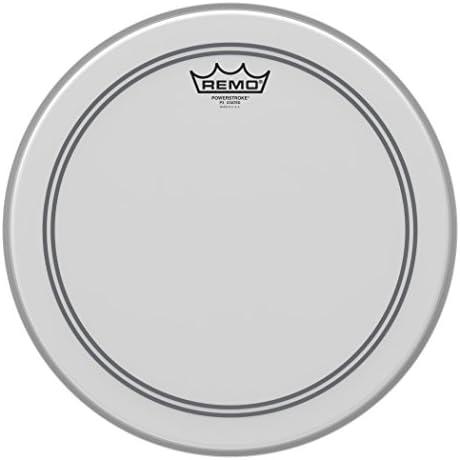 """Remo Schlagzeugfell Drum Head Powerstroke 3 weiss aufgeraut, coated 14"""" P3-0114-BP"""