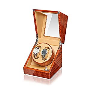 JQUEEN Watch Winder with Quiet Japanese Mabuchi Motor