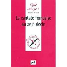 Cantate française au XVIIIe siècle