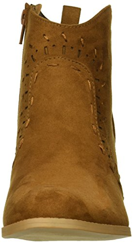 Qupid Women's Western Bootie Boot Maple H1wUrHxq