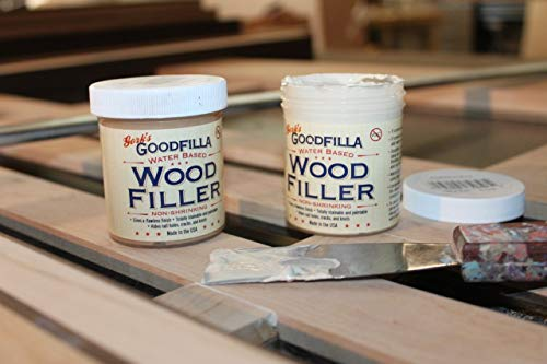 Water-Based Wood & Grain Filler - White Oak - 3.5 Gallon by Goodfilla | Replace Every Filler & Putty | Repairs, Finishes & Patches | Paintable, Stainable, Sandable & Quick Drying by Goodfilla (Image #1)
