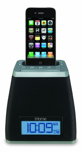 iHome iP21GVC App-Friendly 30-Pin iPod/iPhone Alarm Clock Speaker Dock(Not Compatible w/ iPhone 5) by Sound Design (Image #1)