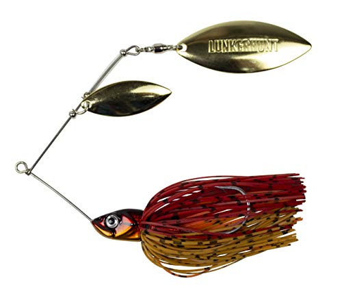 Double Willow - Lunkerhunt Impact Ignite - Double Willow Leaf Spinnerbait